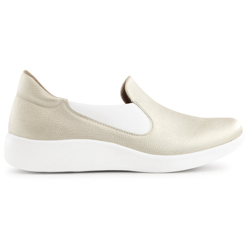Light Gold Sneakers for Women (216.010)