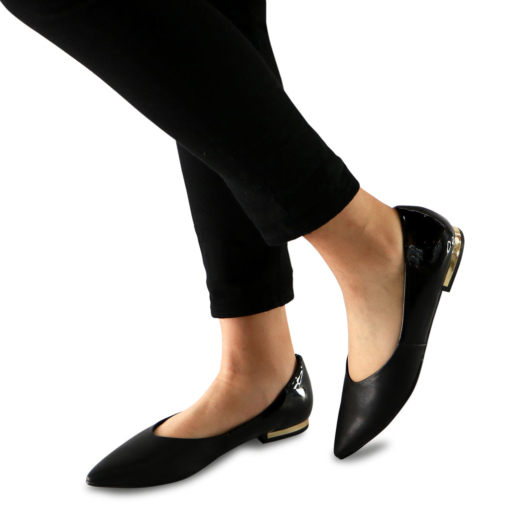 Black Flat fashion shoe (274.034)