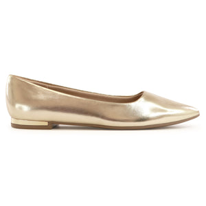 Metal Gold Flats for Women (274.047)