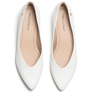 White Pumps for Women (275.006) - SIMPLY SHOES HONG KONG