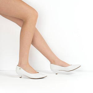 White Pumps for Women (275.006)