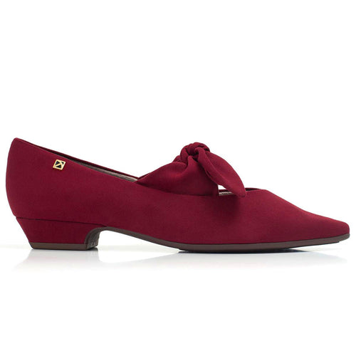 Red Flats for Women (278.016) - SIMPLY SHOES HONG KONG