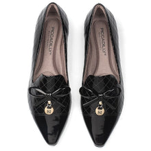 Black Pat flats for Women (278.017)