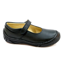 REAL STITCHING AND TOE CAP BLACK LEATHER SHOE (SS-7045)