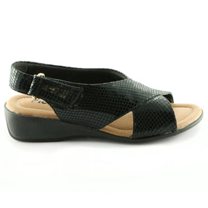 Black Sandals for Women (416.024) - SIMPLY SHOES HONG KONG