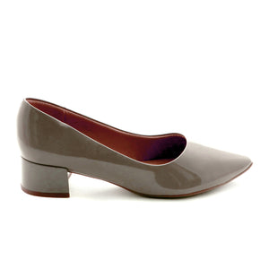 Taupe Pumps for Women (724.006)
