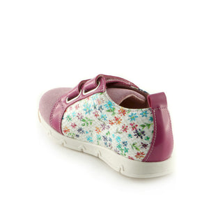 Fuxia Combo Leather girls sneaker (SS-7041)