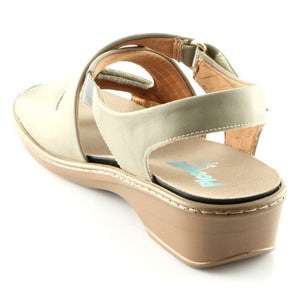 Taupe Sandals for Women (568.006) - SIMPLY SHOES HONG KONG