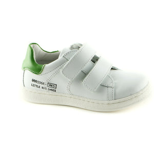 Classic White Leather Trainers (SS-8010) - SIMPLY SHOES HONG KONG
