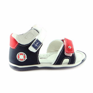 Original Combo Leather Boys Sandals (SS-8009)