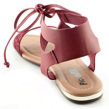 Burgundy Sandals for Women (510.038)