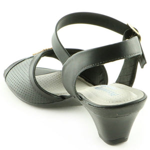 Black Sandals for Women (548.004) - SIMPLY SHOES HONG KONG