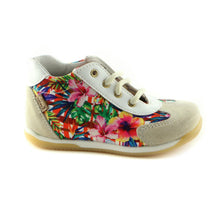 Colorful Combo Leather girls sneaker (SS-7027) - SIMPLY SHOES HONG KONG