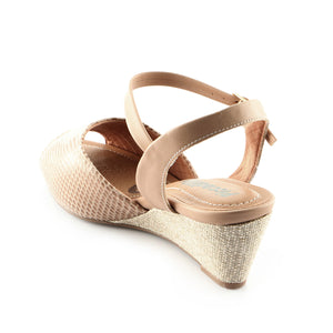 Taupe Espadrilles Sandals for Women (408.109)