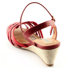 Red Espadrilles Sandals for Women (408.112)