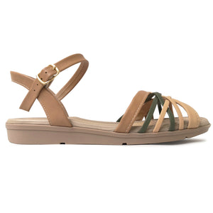 Beige Sandals for Women (401.239) - SIMPLY SHOES HONG KONG