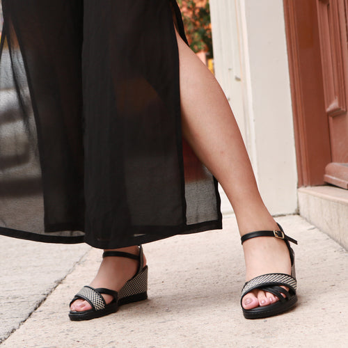 Black Sandals for Women (408.129)