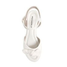 White Nude Sandals for Women (408.132) - SIMPLY SHOES HONG KONG
