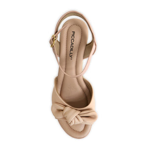 Rose Nude Sandals for Women (408.132) - SIMPLY SHOES HONG KONG