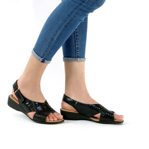 Black Sandals for Women (416.024)