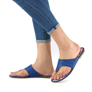 Blue Sandals for Women (425.032) - Simply Shoes Hong Kong