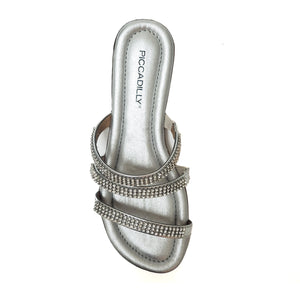Sliver Sandals for Women (425.071) - SIMPLY SHOES HONG KONG