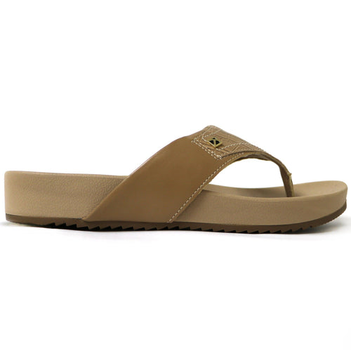 Taupe Croco Sandals for Women (460.056)