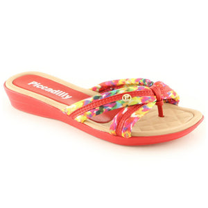 Red Sandals for Women (512.011) - SIMPLY SHOES HONG KONG