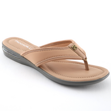 Beige Flat Sandals (517.012) - SIMPLY SHOES HONG KONG
