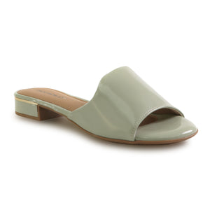 Lime Patent Sandals for Women (558.011) - SIMPLY SHOES HONG KONG