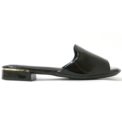 Black Patent Sandals for Women (558.011) - SIMPLY SHOES HONG KONG