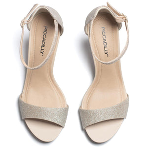 Silver Heels for Women (618.002) - SIMPLY SHOES HONG KONG