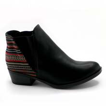 Etnico multi Black Ankle Boot (652.002) - SIMPLY SHOES HONG KONG