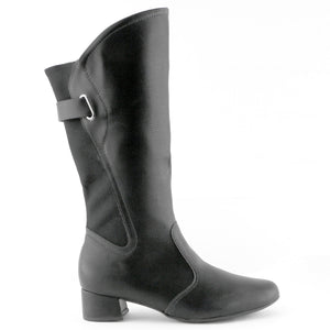 Black Comfort Long boots for Women (141.090)