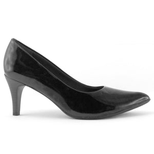 Black Patent Pumps for Women (745.035)