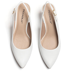 White Shoes for Women (745.045) - SIMPLY SHOES HONG KONG