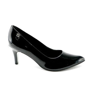 Black Pat Pumps for Womens (745.050) - SIMPLY SHOES HONG KONG