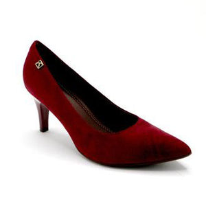 Red Microfiber Pumps for Womens (745.050)