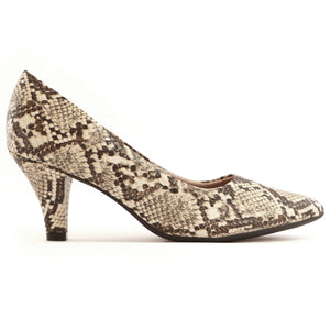 Snake Skin Pumps for Women (745.062)