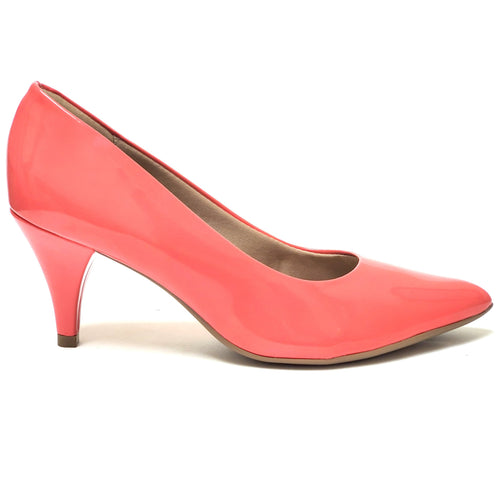 Coral Patent Heels for Women (745.035) - SIMPLY SHOES HONG KONG