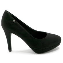 Black Microfiber Pumps (841.022)