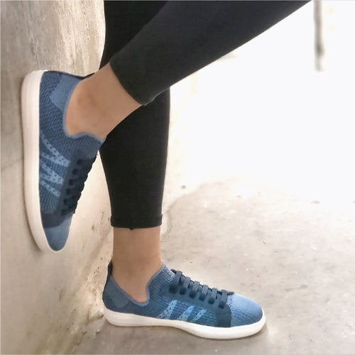 Ultimate Street Blue Ladies Sneaker (961.025)