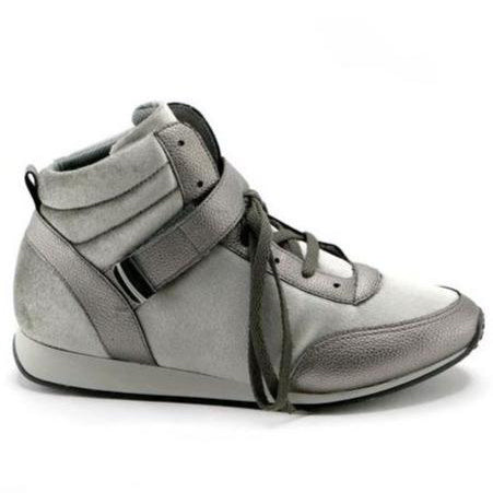 Pewter Casual Ankle Boot (968.008) - SIMPLY SHOES HONG KONG
