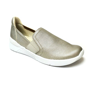 Light Gold Sneakers for Women (970.033) - SIMPLY SHOES HONG KONG