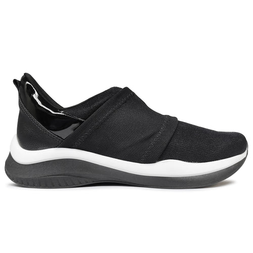 Black Plain ENERGY Sneakers for Women (983.001)
