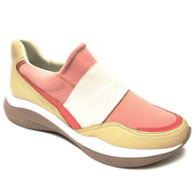 Rose/Cream Plain ENERGY Sneakers for Women (983.008) - SIMPLY SHOES HONG KONG