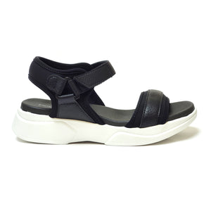 Black ENERGY Sandals for Women (990.002) - SIMPLY SHOES HONG KONG