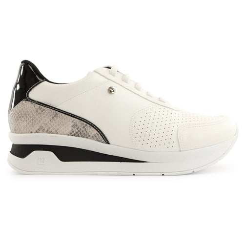 White Snake Sneakers for Women (996.003)