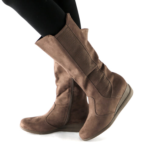 Brown Boots for Women 117.012