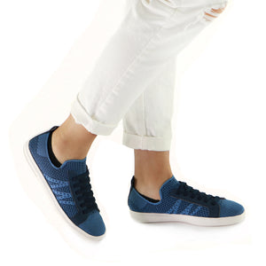 Ultimate Street Blue Ladies Sneaker (961.025) - SIMPLY SHOES HONG KONG